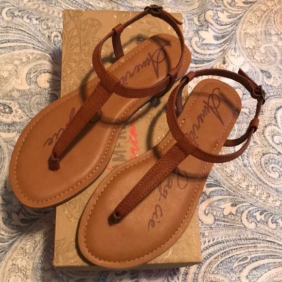 d36995e1b57a3 American Rag Shoes - American Rag Krista T-Strap Flat Sandal